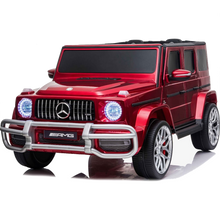 Load image into Gallery viewer, Licensed 4WD High Door Mercedes AMG G63 24V Ride On Jeep - Wine Red