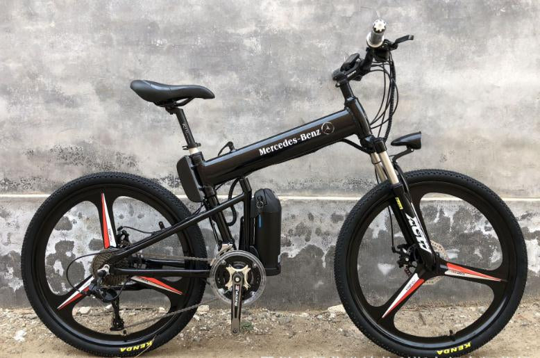 "New Latest Electric bicycle e-bike foldable mountain bike 26"" 36v 350w-GREY"