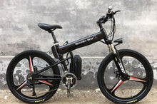 "Load image into Gallery viewer, New Latest Electric bicycle e-bike foldable mountain bike 26"" 36v 350w-GREY"