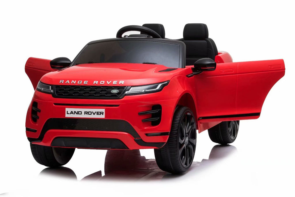 Licensed Range Rover Evoque childrens electric ride on car with LEATHER seat, EVA tyres and parental control
