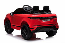 Load image into Gallery viewer, Licensed Range Rover Evoque childrens electric ride on car with LEATHER seat, EVA tyres and parental control