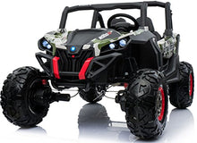Load image into Gallery viewer, Renegade UTV-MX Buggy Style 24V 4WD Kids Electric Ride On With EVA Tyres, LEATHER seats and MP4 screen - CAMO