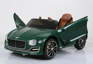 Licensed Bentley GT EXP12 with upgraded LEATHER seat - Green