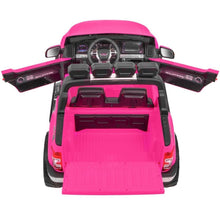 Load image into Gallery viewer, Ford Ranger Wildtrak Licensed 4WD 24V Battery Ride On Jeep - Pink