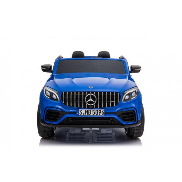 Licensed Mercedes AMG GLC63 S Coupe 24V* 4WD 2 Seater Children's Ride On Car - BLUE