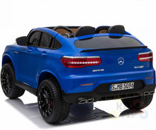 Load image into Gallery viewer, Licensed Mercedes AMG GLC63 S Coupe 24V* 4WD 2 Seater Children's Ride On Car - BLUE