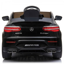 Load image into Gallery viewer, Mercedes GLC63S AMG Ride On Car 12V with LEATHER seat, EVA tyres and MP4 SCREEN- MATTE BLACK