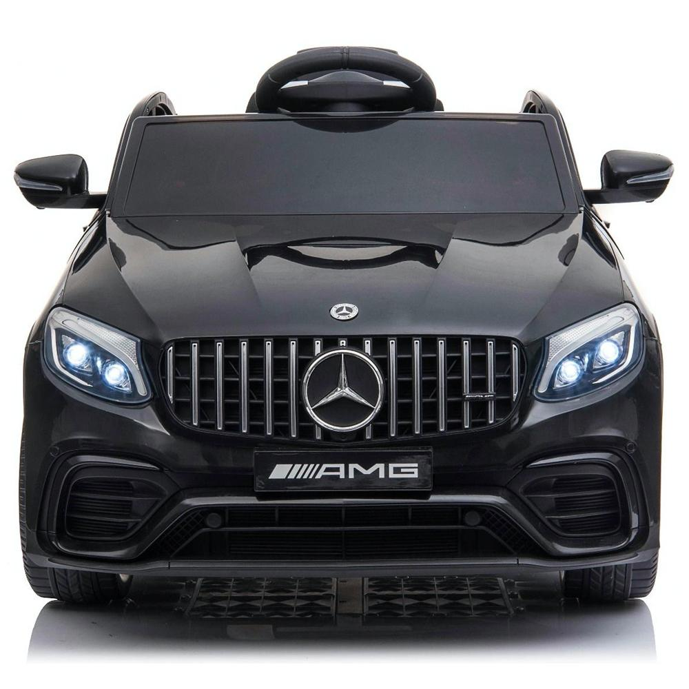 Mercedes GLC63S AMG Ride On Car 12V with LEATHER seat, EVA tyres and MP4 SCREEN- MATTE BLACK