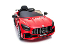 Load image into Gallery viewer, Official Licensed Mercedes AMG GTR ride on car with parental control-white/green.red