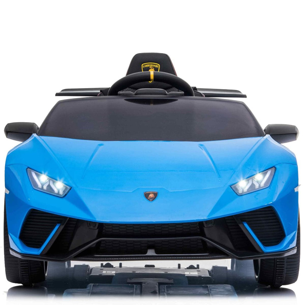 Licensed Lamborghini Huracán Performante Children's Battery Operated 12V Ride on car - Blue