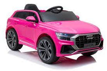 Load image into Gallery viewer, Licensed 12V Audi Q8 Children's Battery Operated 12v Ride on SUV - PINK
