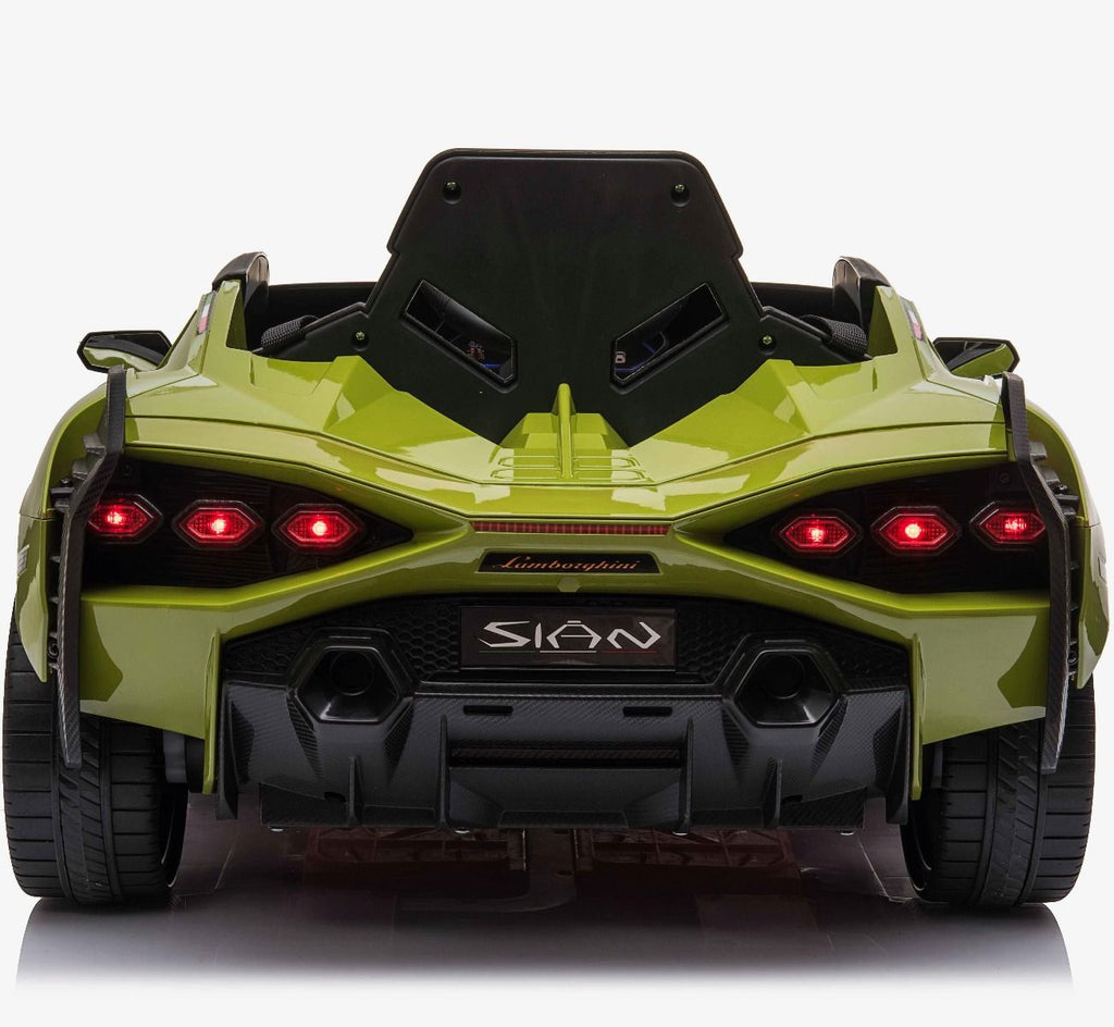 Latest 2020 Licensed Lamborghini Sian childrens electric ride on car with MP4 Screen and parental control