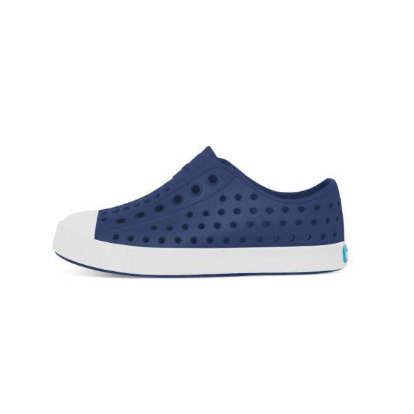 Native Jefferson - Regatta Blue/Shell White-Shoes - Boy-Native-C6-Eden Lifestyle