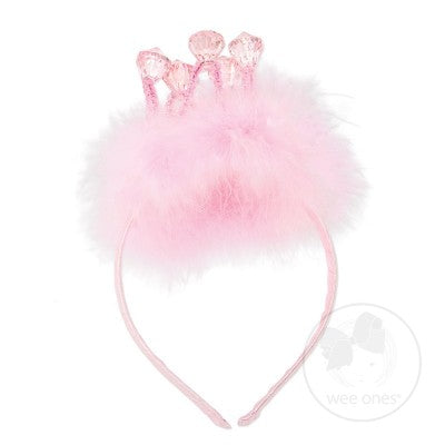Wee Ones Princess Crown Headband-Accessories - Bows & Headbands-Wee Ones-Eden Lifestyle