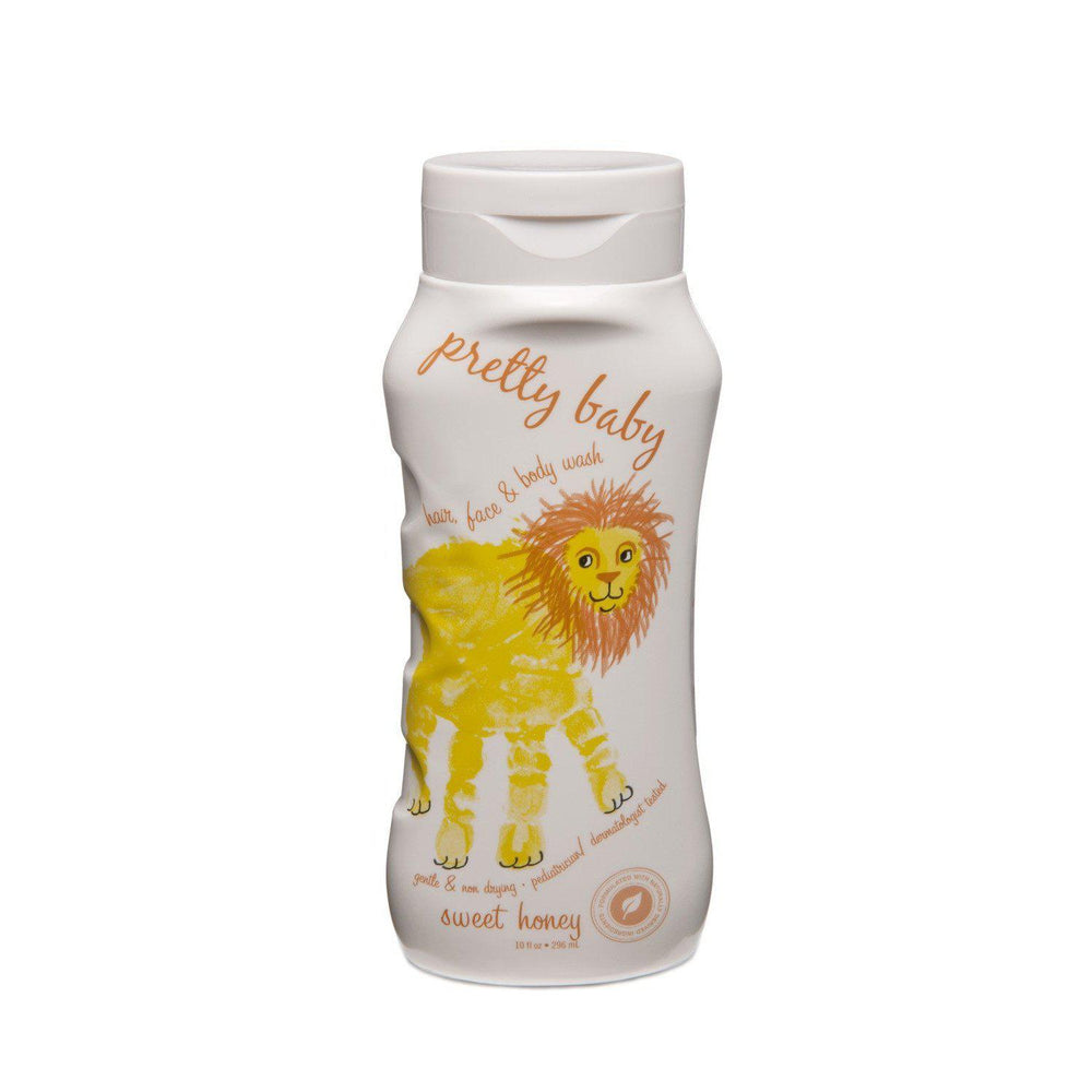 Eden Lifestyle, Gifts - Kids Misc,  Pretty Baby Hair, Face & Body Wash Sweet Honey- 10oz