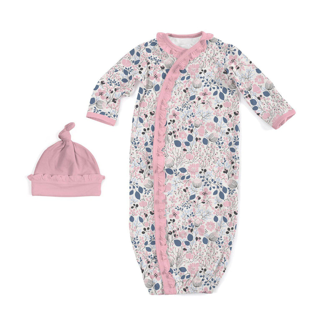 Cambridge Floral Modal Magnetic Sack Gown Set