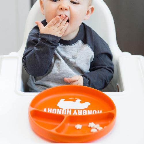 Bella Tunno, Baby - Feeding,  Bella Tunno Wonder Plate - Hungry Hungry