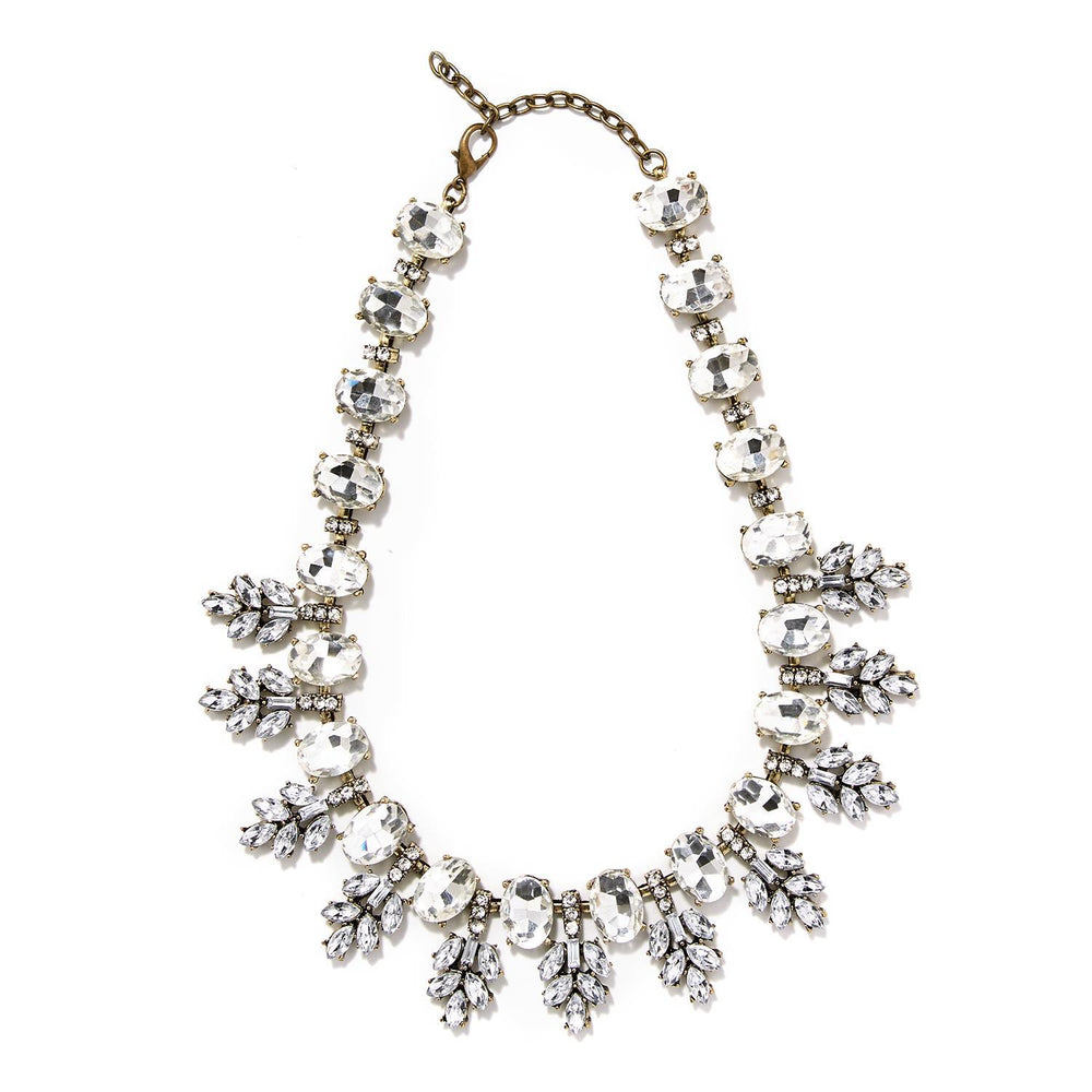 Eden Lifestyle, Accessories - Jewelry,  Crystal Statement Necklace