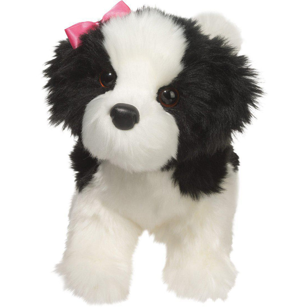 Eden Lifestylekids, Gifts,  Poofy Black and White Dog