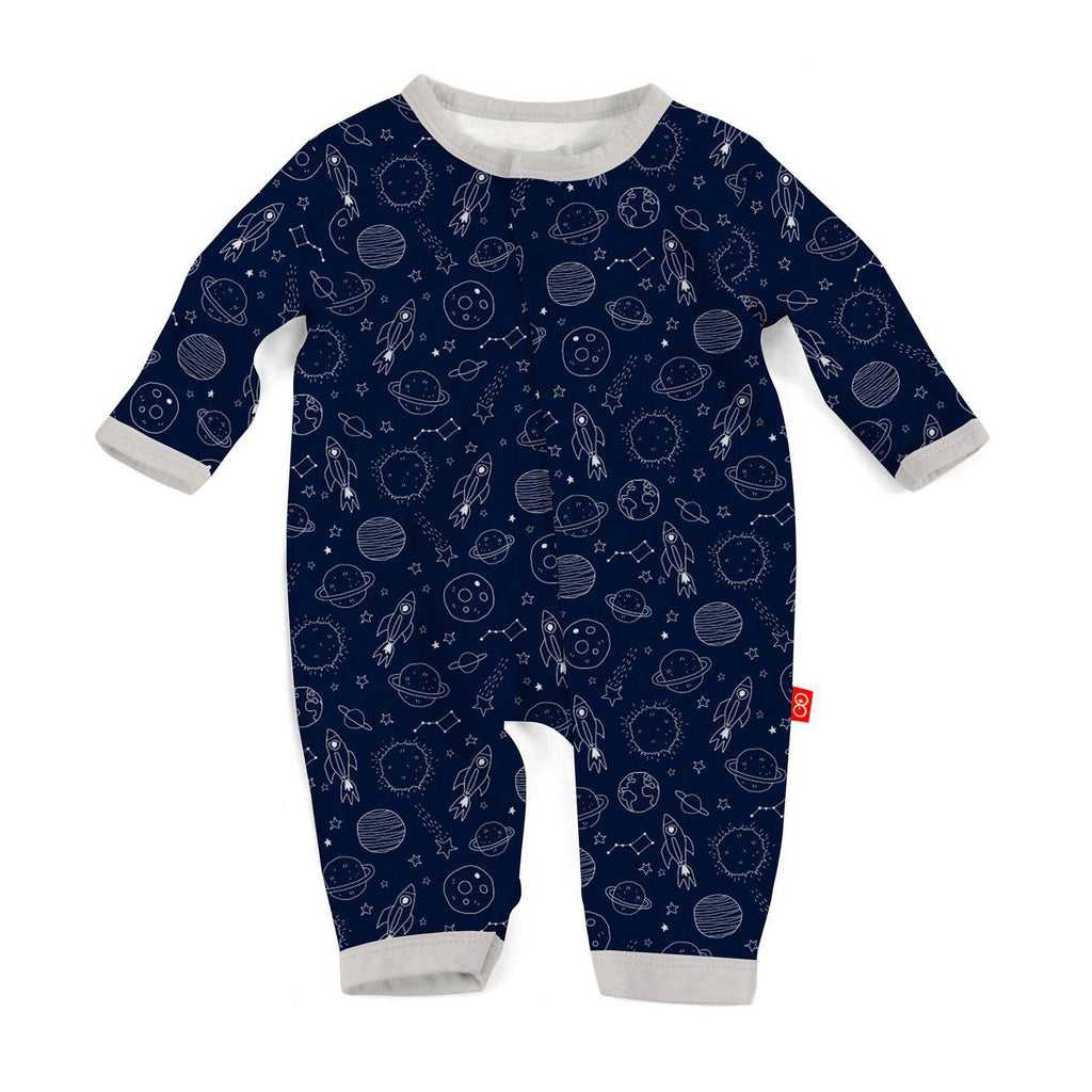 Magnetic Me by Magnificent Baby Stellar Modal Magnetic Coverall-Baby Boy Apparel - Rompers-Magnificent Baby-0-3M-Eden Lifestyle