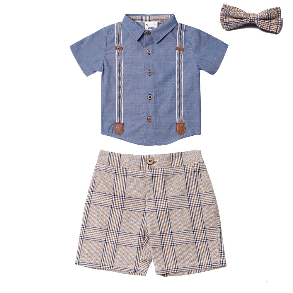 Fore, Baby Boy Apparel - Outfit Sets,  Fore! Axel & Hudson Scottish Caddy Boys Set