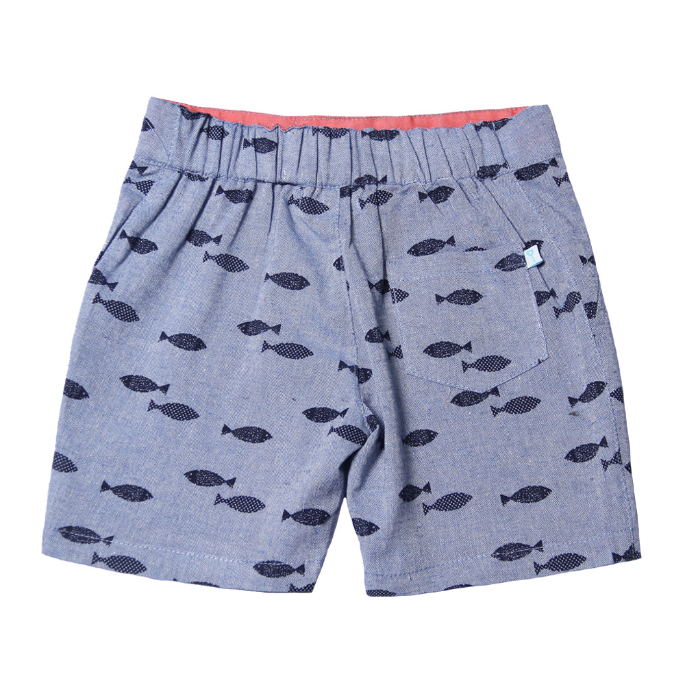 Fore! Axel & Hudson Fly Fish Boy Shorts-Boy - Shorts-Fore-2T-Eden Lifestyle