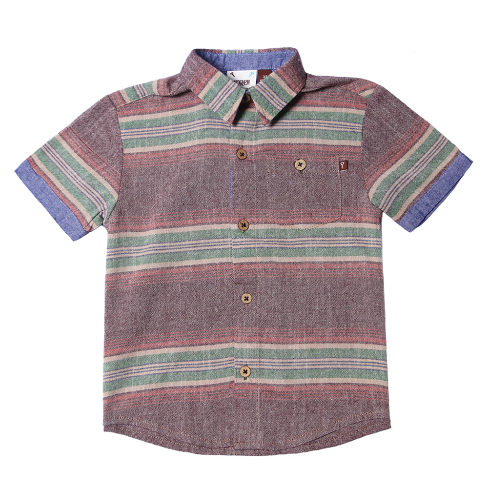 Fore! Axel & Hudson Santa Fe Button Up-Boy - Shirts-Fore-2T-Eden Lifestyle