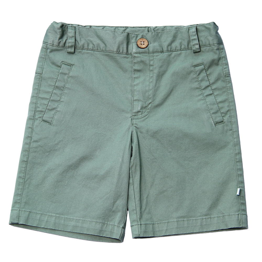 Fore, Baby Boy Apparel - Outfit Sets,  Fore! Axel & Hudson Seafoam Green Shorts