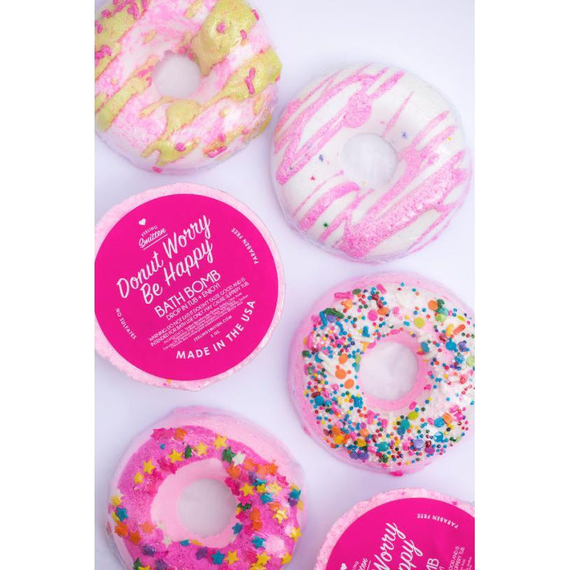 Donut Worry Gifts - Bath Bombs-Gifts - Bath Bombs-Eden Lifestyle-Eden Lifestyle