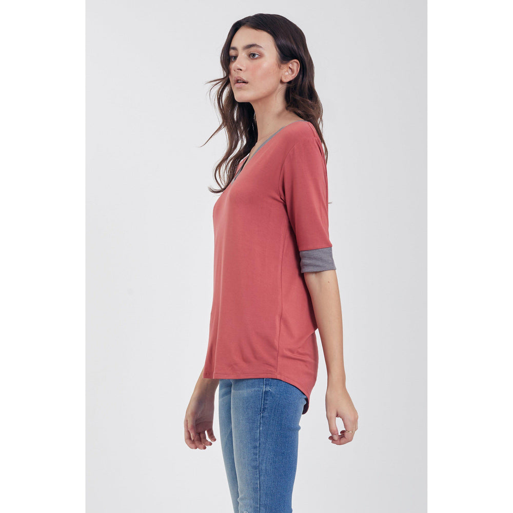 Another Love, Women - Shirts & Tops,  Kaydence V Neck