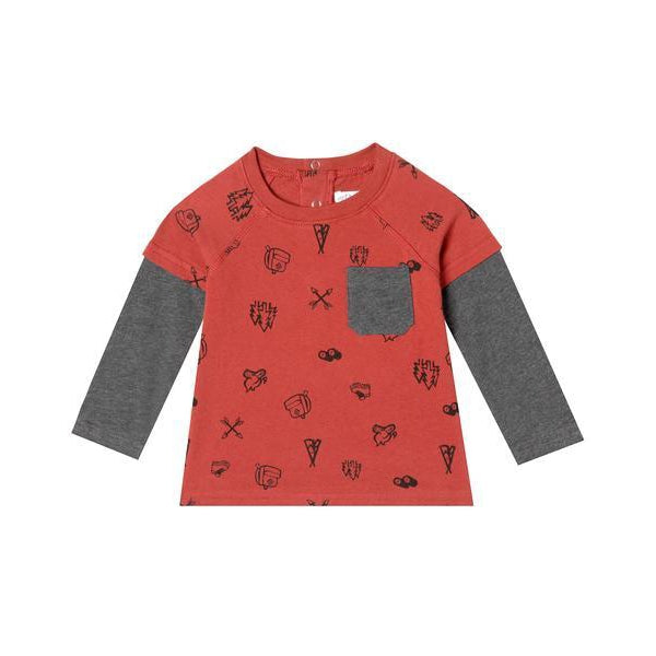 Mini Sam T Shirt-Boy - Tees-Art & Eden-6-9m-Eden Lifestyle