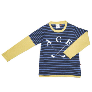 Fore! Axel & Hudson Ace Tee-Boy - Tees-Fore-2T-Eden Lifestyle