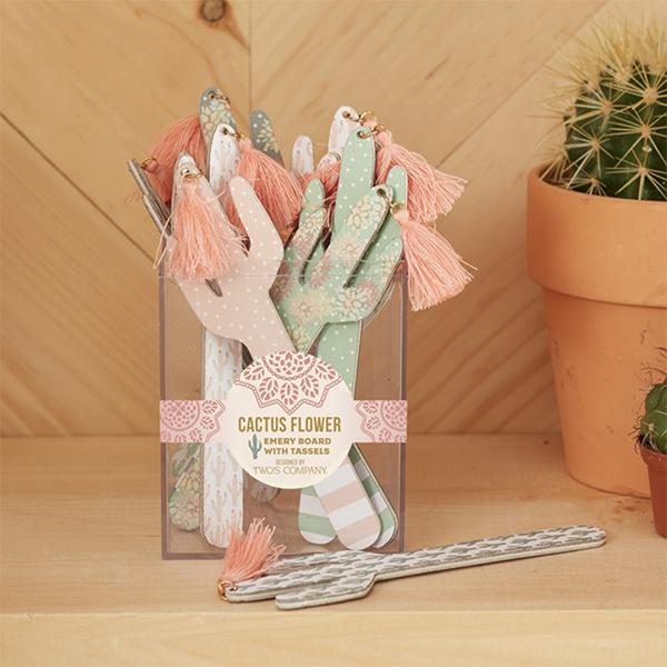 Fancy Cactus Nail File-Gifts - Kids Misc-Eden Lifestyle-Eden Lifestyle