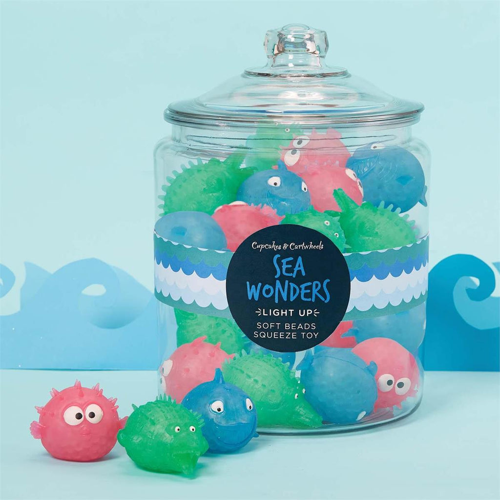 Sea Wonders Light UP Squeeze Toy - Assorted-Gifts - Kids Misc-Eden Lifestyle-Eden Lifestyle