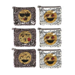 Eden Lifestyle, Gifts - Kids Misc,  Sequin Emoji Bag