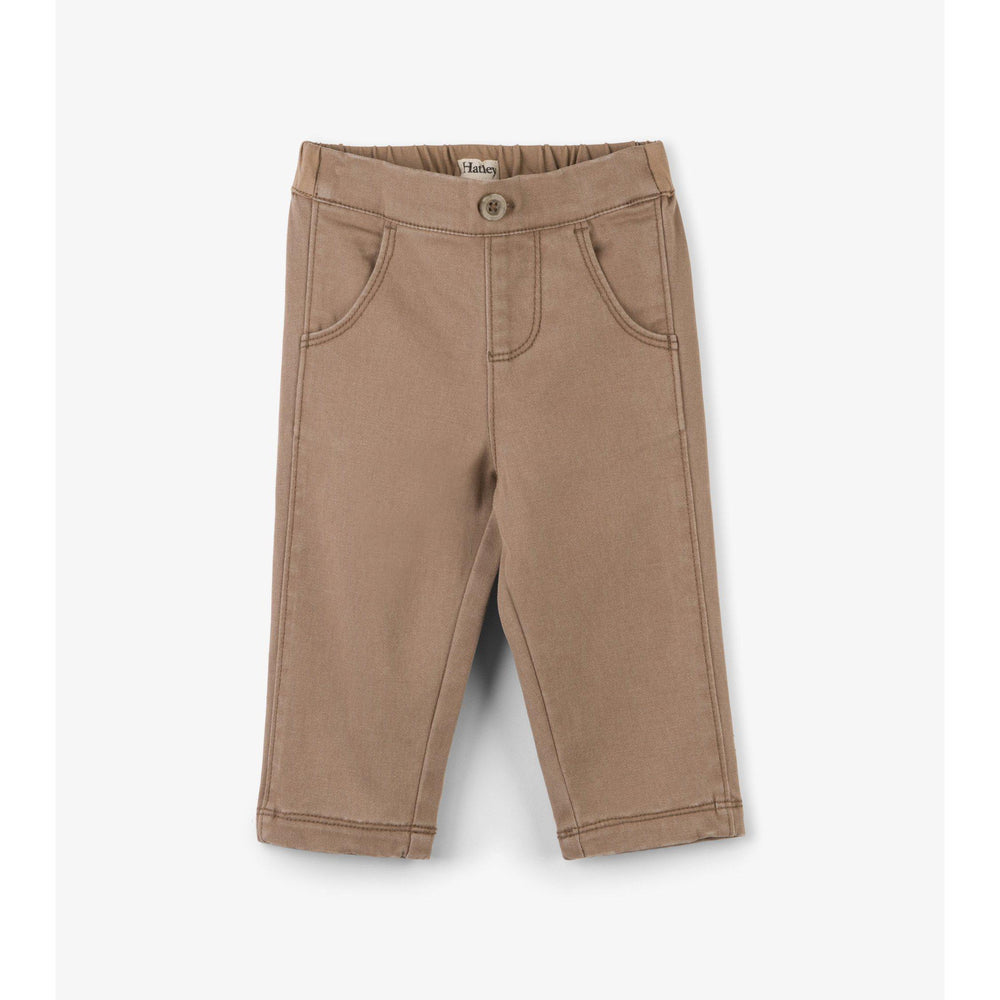 Hatley, Baby Boy Apparel - Pants,  Hatley Tan Baby Khakis