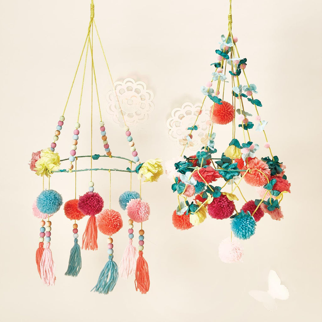 Pom Pom Hanging Decor - Assorted-Gifts - Kids Misc-Eden Lifestyle-Eden Lifestyle