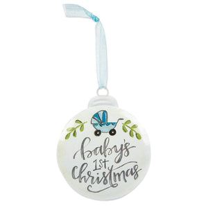 Baby's First Christmas Ornament-Gifts-Eden Lifestyle-Baby Boy-Eden Lifestyle