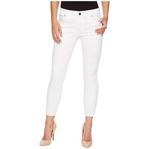 KUT from the Kloth, Women - Denim,  CONNIE SLIM FIT ANKLE SKINNY (WHITE)