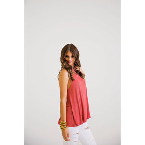 Every Day Tank Brick-Women - Shirts & Tops-Eden Lifestyle-Small-Brick-Eden Lifestyle