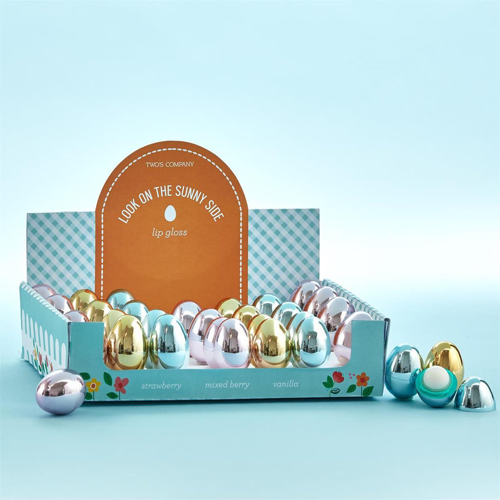 Metallic Egg Lip Balm-Gifts - Kids Misc-Eden Lifestyle-Eden Lifestyle