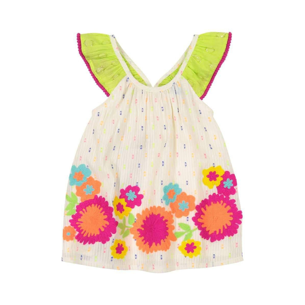 Masala Baby Butterfly Baby Dress-Baby Girl Apparel - Dresses-Masala Baby-3-6M-Eden Lifestyle