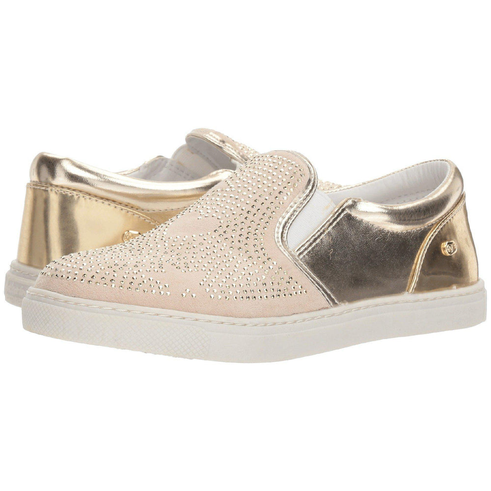 Eden Lifestyle, Shoes - Women,  Studded Twin Gore Gold
