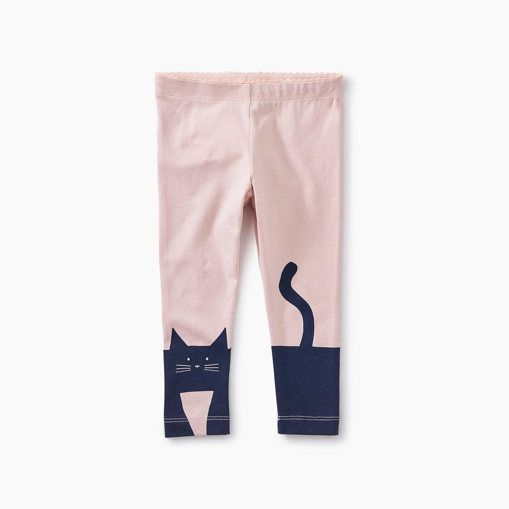 Curious Cat Baby Leggings-Baby Girl Apparel - Leggings-Tea Collection-12-18M-Eden Lifestyle