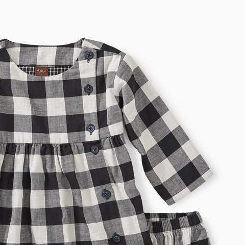 Image of Checkered Plaid Baby Dress