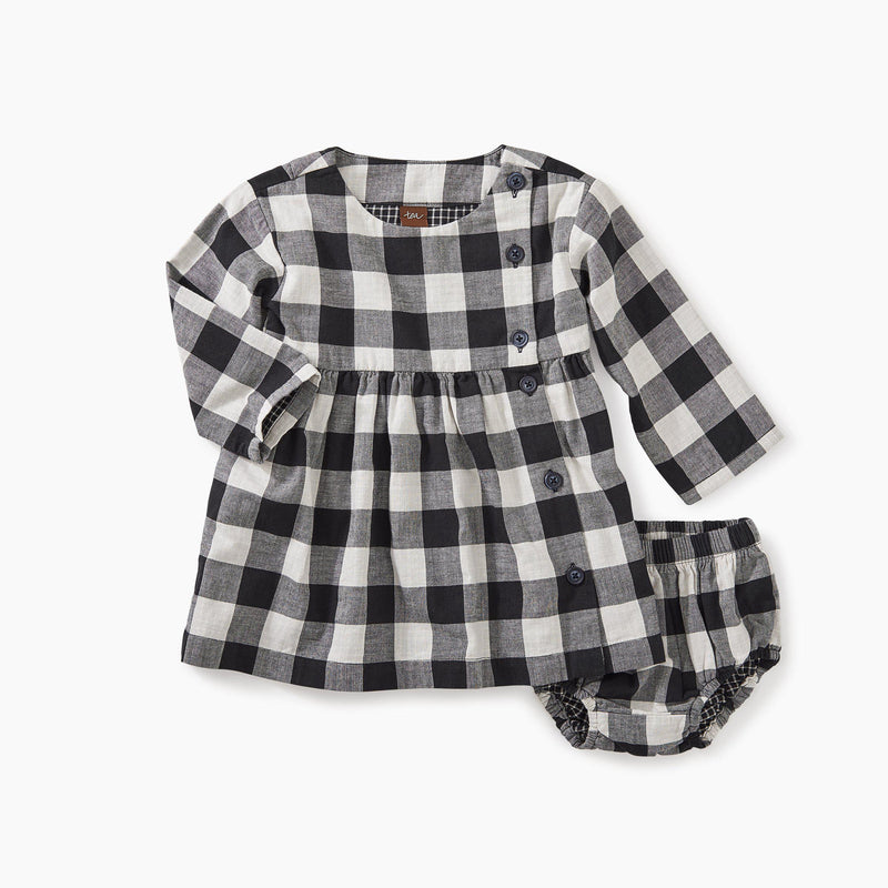 Checkered Plaid Baby Dress