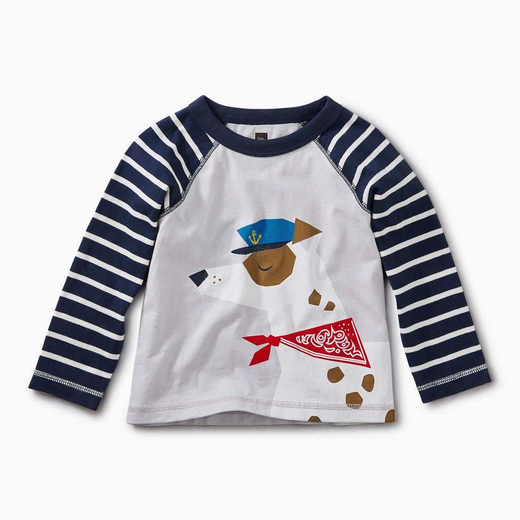 Salty Dog Raglan Graphic Tee-Tees-Tea Collection-12-18M-Eden Lifestyle