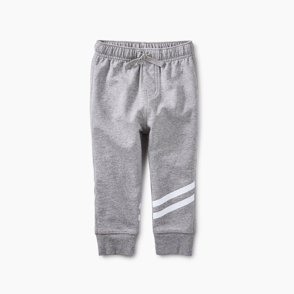 Sporty Stripe Baby Joggers-Baby Boy Apparel - Pants-Tea Collection-12-18M-Eden Lifestyle