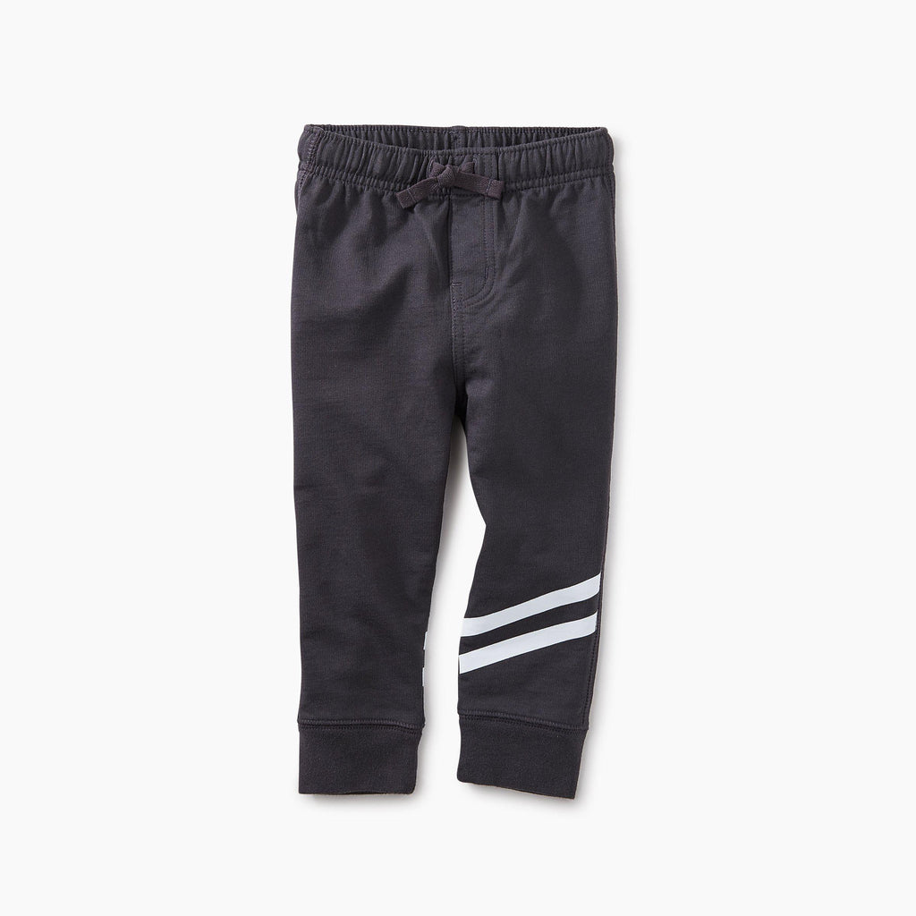 Sporty Stripe Baby Joggers-Joggers-Tea Collection-12-18M-Eden Lifestyle