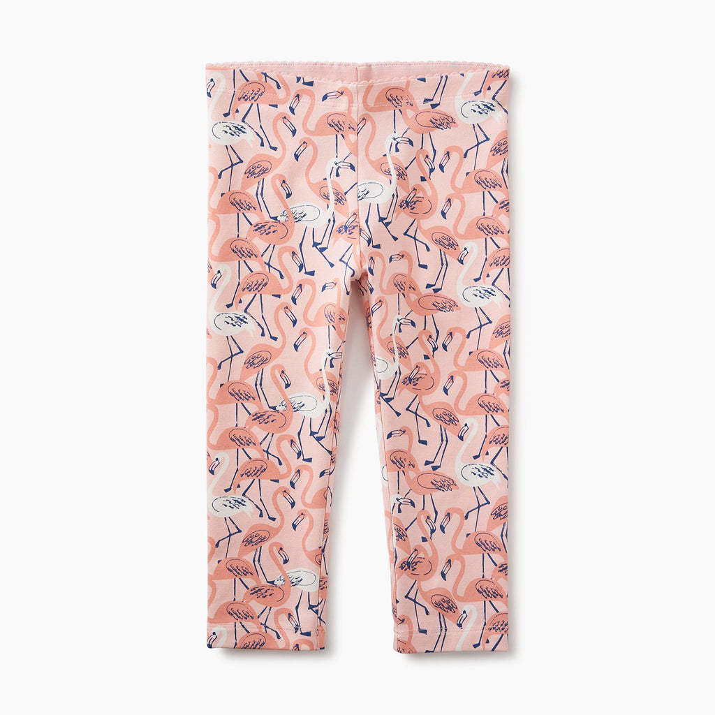 Flamingo Leggings-Girl - Leggings-Tea Collection-2-Eden Lifestyle